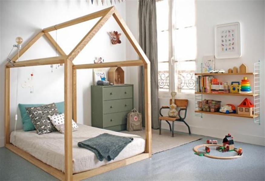 Детская кровать домик для девочки своими руками 99