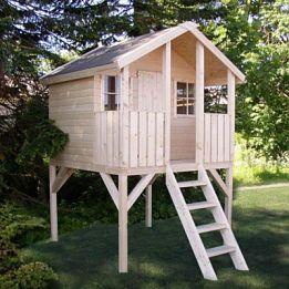 детские деревянные домики купить