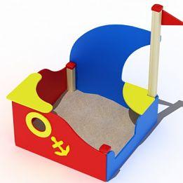 Песочница лодка