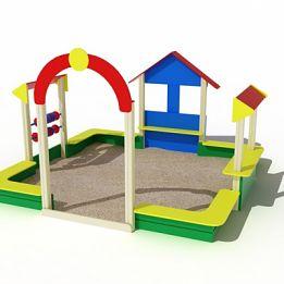 Песочный дом для детей