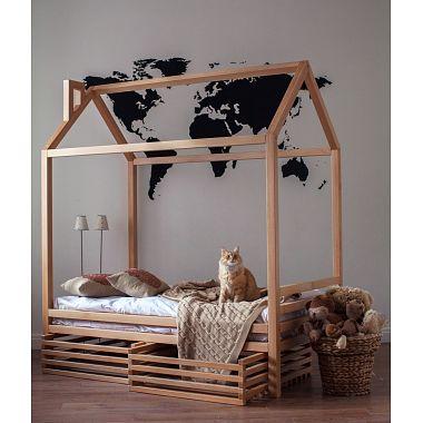 кровать домик екатеринбург