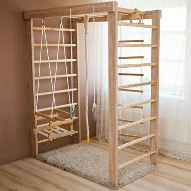 деревянные детские комплексы для дома