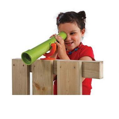 телескоп детский пластиковый