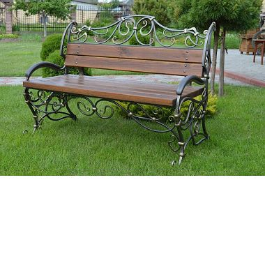 кованые скамейки