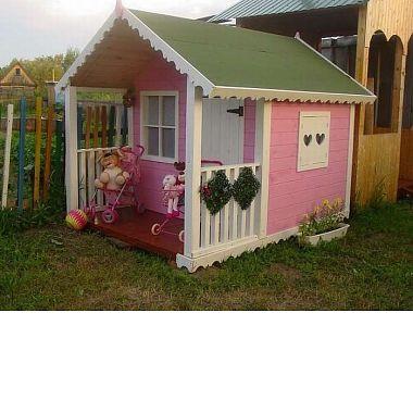 детский деревянный домик нижний тагил