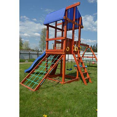 деревянные детские площадки для загородных домов