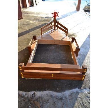 Песочница кораблик екатеринбург