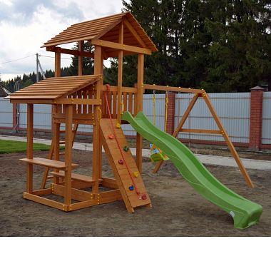 Детские площадки деревянные для загородных домов