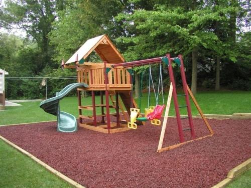 Детская площадка своими руками: фото-идеи 16